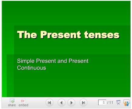 The-Present-Tenses